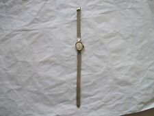 Vintage WOMENS Welsbro 17 JEWEL Incabloc 10K  R.G.P. watch  SWISS