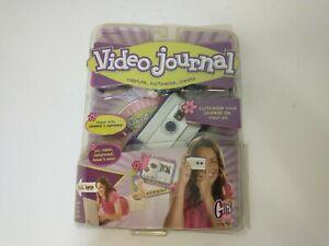 Mattel Girl Tech Video Journal Digital Camera Kit W/ Software New Package 2007