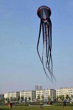 3D 20m Capricorn black octopus kite 1 Line Stunt Parafoil Sport outdoor toys #02