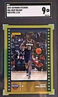 Jrue Holiday 2019-20 Panini NBA Sticker & Card Collection Rookie Gold Foil 1/10