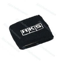 1PCS Universal Black HKS Reservoir Brake Clutch Car Oil Tank Cap Sock