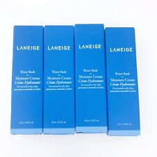 Laneige Water Bank Moisture Cream  | .2 oz 8 ml each = 32 ml total New Lot of 4x