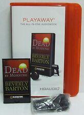 NEW Dead by Nightfall PLAYAWAY AUDIOBOOK Beverly Barton Unabridged Karen Wh