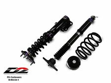 D2 Racing RS Coilovers MAZDA MAZDA3 3 MAZDASPEED BM CHASSIS 36 WAY ADJUSTABLE