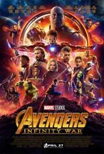 Avengers Infinity War Part I Decor Movie Poster Print