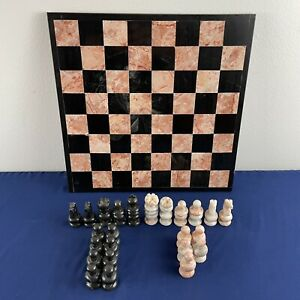 Replacement Stone Marble Chess Pieces