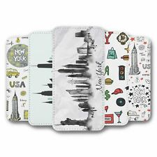 For Samsung Galaxy S10 Flip Case Cover NYC Collection 2