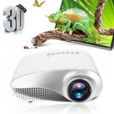 7000 Lumens 3D 1080P Full HD Mini Projector LED Multimedia Home Theater AV USB