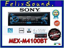 SONY MEX-N4100BT   Autoradio  CD / MP3 / USB / AUX Bluetooth 4X55 watt  2 preout