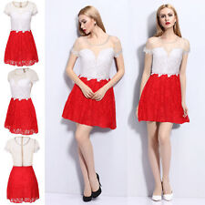 Collar Party Short Sleeve Regular Size Dresses for Women