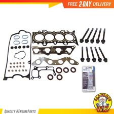Head Gasket Set Bolts Fits 01-05 Honda Civic DX LX 1.7L SOHC 16v VTEC D17A1