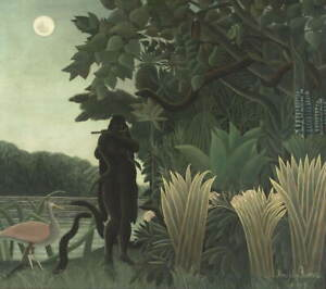 Henri Rousseau The Snake Charmer Giclee Art Paper Print Poster Reproduction