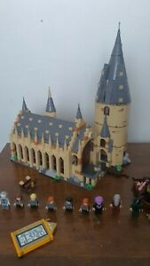 LEGO Hogwarts Great Hall Harry Potter-75954 incomplete