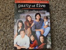 Party of Five - The Complete Second Season (DVD, 2005, 5-Disc Set) FREE SHIPPING