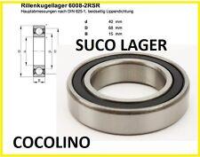 SUCO 6008 2RS Lager Rillenlager Kupplung   bearing Roulement Trockenkupplung