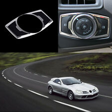 FIT FR 12-FORD FOCUS CHROME FOG HEAD LIGHT LAMP SWITCH BUTTON COVER TRIM BEZEL