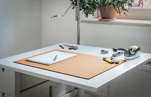 Kork Schreibtischunterlage für Büro, Homeoffice und Kinderzimmer | Office-Mat