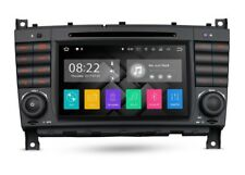 "RADIO DVD GPS LCD TACTIL 7"" MERCEDES CLASE C W203 G W209 ANDROID 7.1 CANBUS BT"