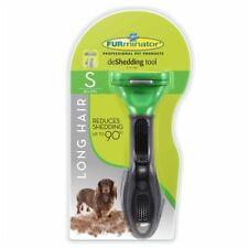 New Furminator Long Hair Dog DeShedding Tool Small