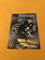 Mats Sundin 99-00 Pacific Center Ice Card Toronto Maple Leafs