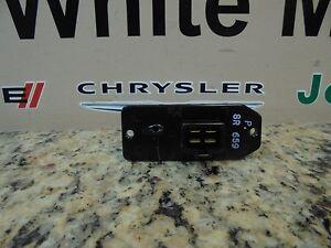 Dodge Ram 1500 2500 & 3500 A/C Blower Motor Switch Resistor OEM Mopar New