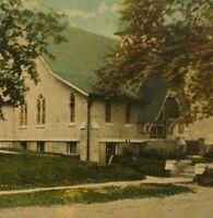 Methodist Episcopal Church Port Washington Long Island NY VTG Postcard St. View
