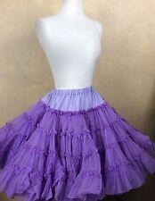 Square Dance Petticoat Purple KroeningsFashion Magic Very Full 2 Layers S