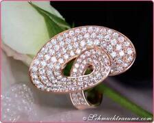 Reinheit SI Echte Diamanten-Ringe mit Baguette