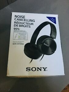 Sony noise cancelling headphones.