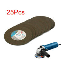 """25Pcs 6"""" 150MM Resin Cutting Wheel Disc For Angle Grinder Rotary Tools 22MM Bore"""
