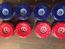 8 LARGE AMERICAN SHUFFLEBOARD TABLE PUCK WEIGHTS 2 5/16 + RULE BOOKLET