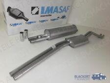 IMASAF Auspuff Set Mitteltopf + Endtopf Mercedes S-Klasse W108/W109 250+280+300