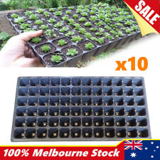 10x 72 Hole Seedling Starter Tray Plant Seed Grow Box Insert Propagation Nursery