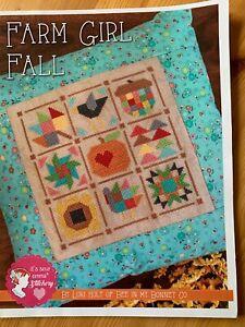 Farm Girl Fall by Lori Holt cross stitch chart