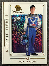2007 Press Pass Premium #90 JON WOOD Rookie RC NASCAR RACING CARD Free Shipping