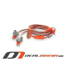 Coloud Sports HOOP Anchor Sweat Resistant Earbuds with Mic and Remote - Orange