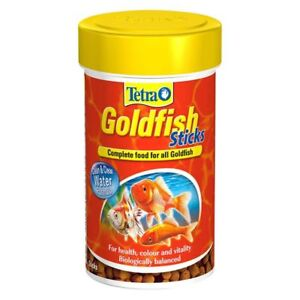 Tetra Goldfish Sticks 100ml,250ml Complete food for all Goldfish