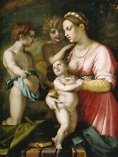 Andrea DEL SARTO ITALIANO carità Vecchia Pittura Arte Poster Stampa bb4857a