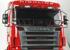 For Tamiya SCANIA Truck 1/14 scale decal logo protective windscreen