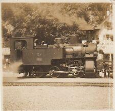orig.foto ca.9x9cm Locomotive à vapeur 05 (G719)