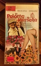 LA PALOMA DE MARSELLA. GERMAN ROBLES, ROSA DE CASTILLA...  RARE SPANISH VIDEO