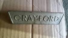 ford cortina/corsair crayford badge