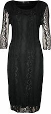 Casual Full Length Lace Dresses Plus Size for Women