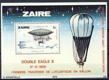 Zaïre - BL30 (Bloc 30) - Histoire de l'Aviation - 1978 - MNH