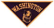 University  Washington Huskies  College   Vintage Looking Travel Decal Sticker