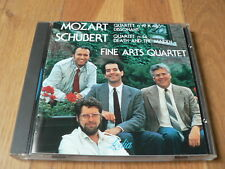 Fine Arts Quartet - Mozart : Quartet 19 - Schubert : Quartet 14 - CD Lodia Japan