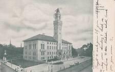 Antique Postcard c1905 City Hall Worcester, Ma Mass. 15343