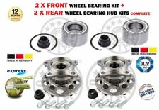 FOR LEXUS RX330 RX350 RX400H 2003-> NEW 2X FRONT + 2X REAR WHEEL BEARING KITS
