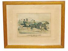 Lithographie Originale Scott Leighton 1883