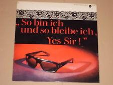 ZARAH LEANDER -So bin ich und so bleibe ich, Yes Sir!- LP Bertelsmann Ring